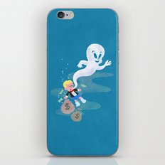 Where do friendly ghosts come from? iPhone Skin