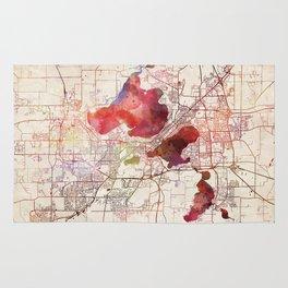 Madison map Rug