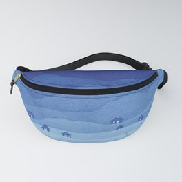 Cancer Constellation, mountains Fanny Pack