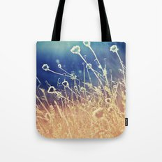 Blue and day  Tote Bag