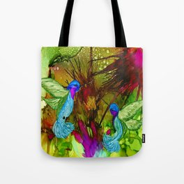 Humming Bird Art  Tote Bag