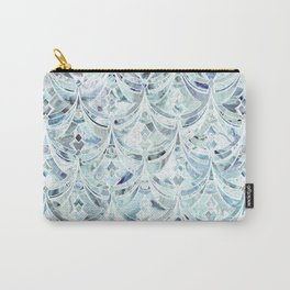 Ice and Diamonds Art Deco Pattern Carry-All Pouch