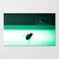 Neon Fly Canvas Print