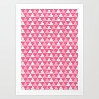 Pink Sugar Art Print