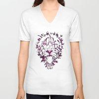 hannibal V-neck T-shirts featuring Hannibal by Josh Mateo