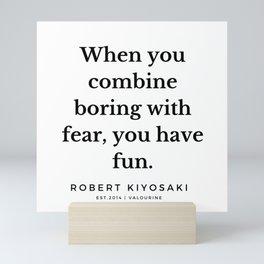 30  |  Robert Kiyosaki Quotes | 190824 Mini Art Print