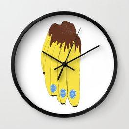 Choco Banana Wall Clock