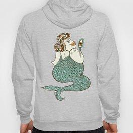 sel-fish mermaid Hoody