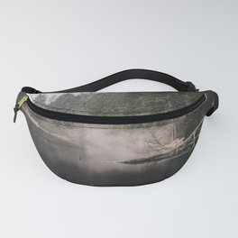 In the Fog - Landscape Photography Fanny Pack