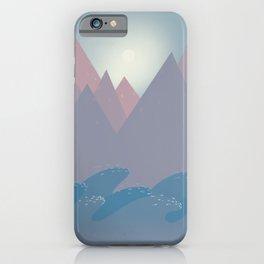 Mauna, Moana & Lani (mountain, sea & sky) iPhone Case