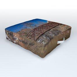 Virgin_River Foot_Bridge - Zion Court Outdoor Floor Cushion