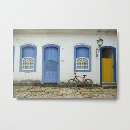 Old City Metal Print