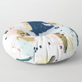 Beneath the Surface Floor Pillow