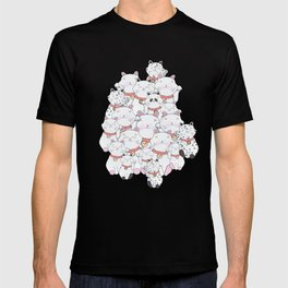 FIND THE PANDA - LUCKY CAT T-shirt