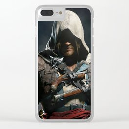 Assassin's Creed Black Flag Clear iPhone Case