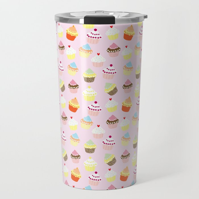 Cupcake Wonderland Travel Mug
