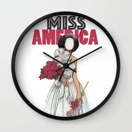 MISS AMERICA Wall Clock