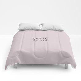 BEGIN AGAIN Comforters