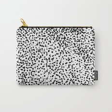 Retro Themed Dot Pattern Design Carry-All Pouch
