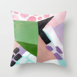 Because Lollipops Throw Pillow