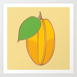 Starfruit Art Print