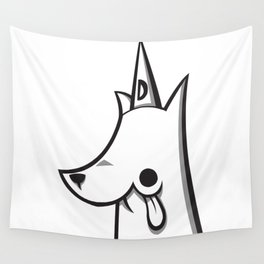 Dumb Dog a Day - Scholar Wall Tapestry