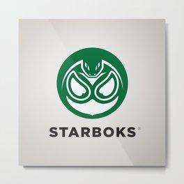 Starboks! Metal Print