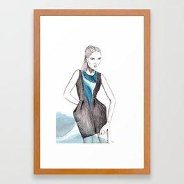 Victor Chan Illustration Framed Art Print