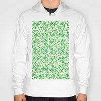 vegetable Hoodies featuring Vegetable salad by Tony Vazquez