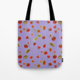 Strawberry Jammin Tote Bag