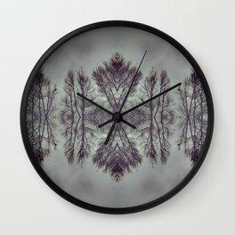 Treeflection I Wall Clock