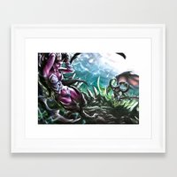 warcraft Framed Art Prints featuring Apocalypse by Steuer Catherine