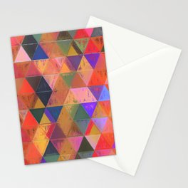 Lozenges 2 Stationery Cards