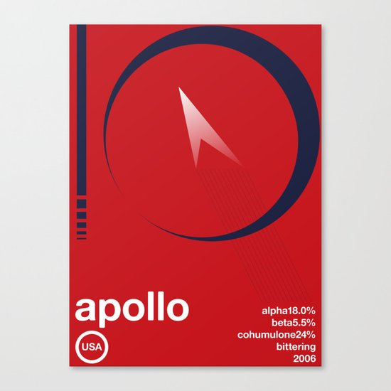 apollo single hop Canvas Print