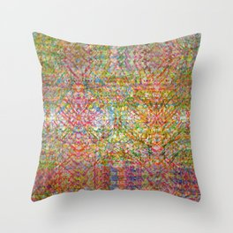 discussion | train || beast | scrutiny || 1 Throw Pillow
