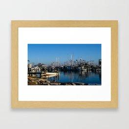 The Pass Harbor Framed Art Print