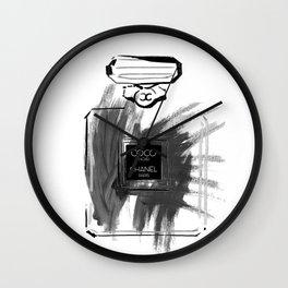 Black perfume #2 Wall Clock