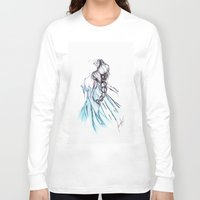 frozen elsa Long Sleeve T-shirts featuring Frozen Elsa by Jeanette Perlie
