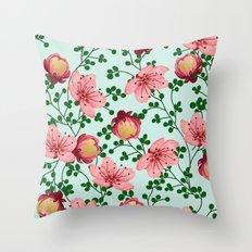 Blush Vines #society6 #decor #buyart Throw Pillow