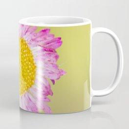 Yellow and pink wildflower Coffee Mug