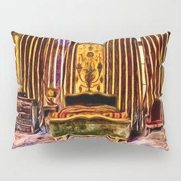 'Before We Were Shadows' Abandoned Lovers Bedroom Portrait Pillow Sham