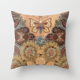 Luminous Garden Throw Pillow