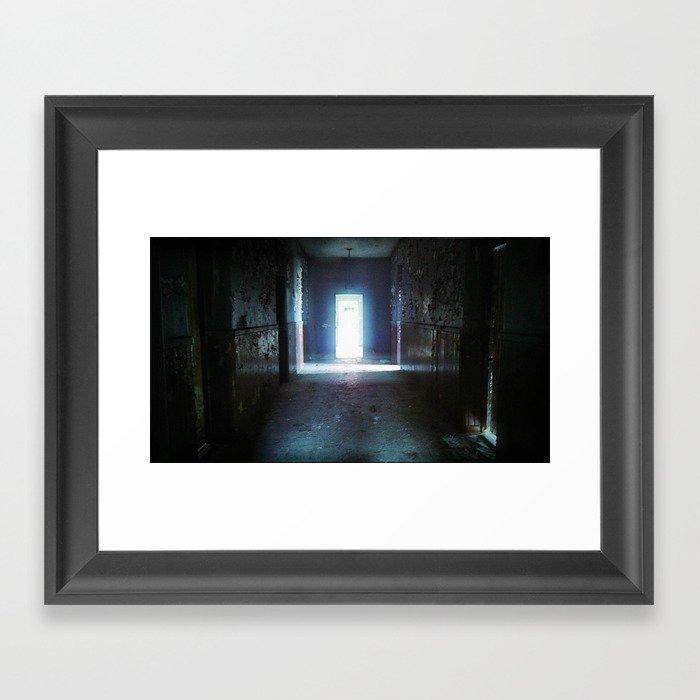 Fear - urbex - abandoned places - urban exploration  Framed Art Print