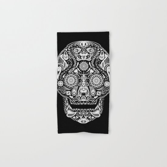 Mexican Halloween Hand & Bath Towel