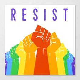 Resist (Pride) Canvas Print