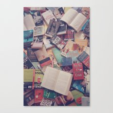 Book mania! (2) Canvas Print