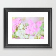 Soft Pinkness Texture Framed Art Print