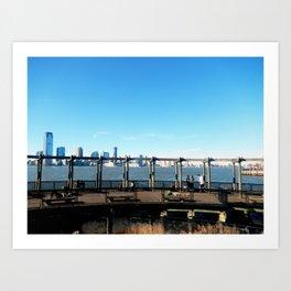 Piers | Hudson River | NYC Art Print