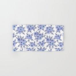 Blue Coneflowers and Daisies Hand & Bath Towel