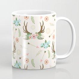 Floral Boho Coffee Mug